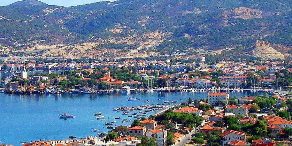 The most beautiful towns of the Aegean